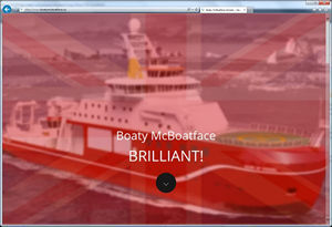 Boaty McBoatFace and driving traffic to your website